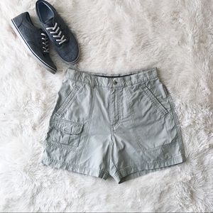 Columbia high waisted hiking utility shorts
